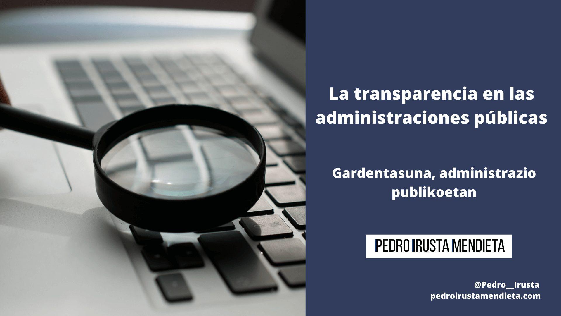 Transparentzia_Administrazio_Publikoak
